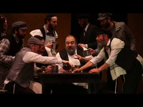 Highlights from Fiddler on the roof in yiddish