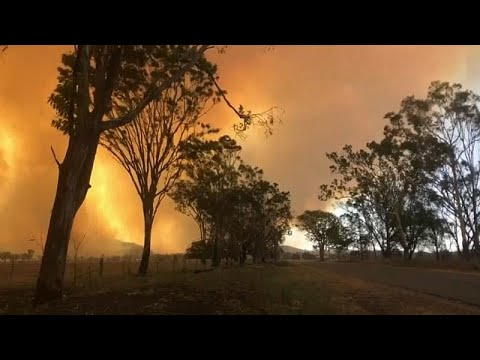 Incêndios no estado australiano de Queensland