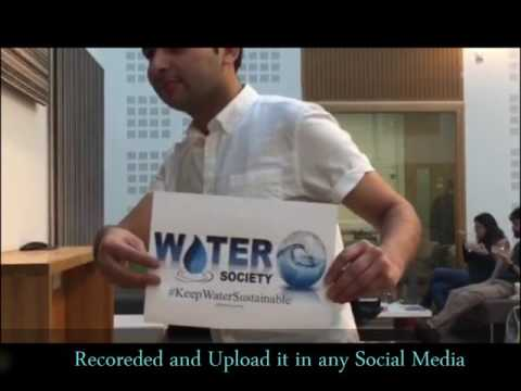 Selfie Mannequin Challenge Water Society International Campaign