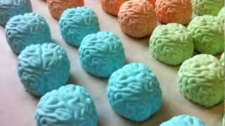 Zombie Brain Bath Shea Butter Bath Bombs! - Morrrrrre Braaaaiiiiiiinns!