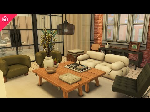 Download Brownstone Apartment   The Sims 4: Speed Build