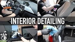 HOW TO CLEAN AND DETAIL A CAR INTERIOR !!