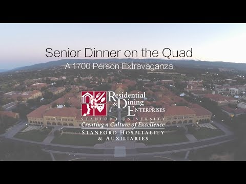 Senior Dinner on the Quad Featurette