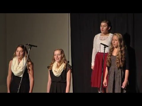 Santiam Christian Schools 2015 Christmas Program - Junior High Choir