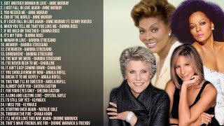 The Best of Anne Murray, Barbra Streisand, Diana Ross, Dionne Warwick & More | Non-Stop Playlist
