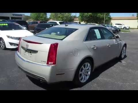 2008 Cadillac CTS 3.6 Walkaround, Start up, Tour and Overview