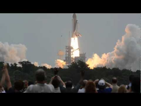 Actual Real Sound of a Space Shuttle Launch STS-135 Atlantis - The Last One