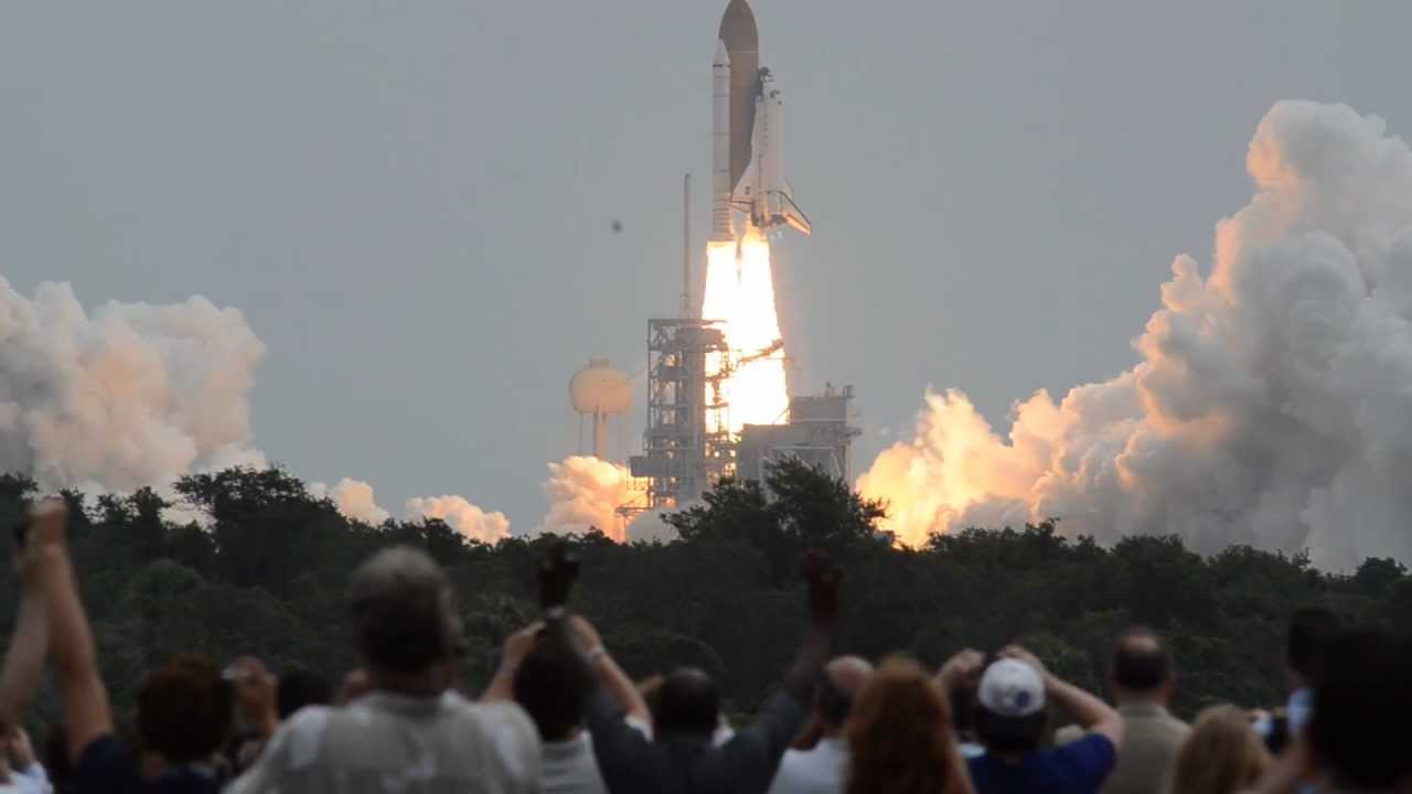 Actual Real Sound of a Space Shuttle Launch STS-135 ...