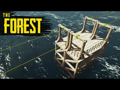 ZIPLINE JUNCTION! The Forest Hard Survival S3 Episode 14
