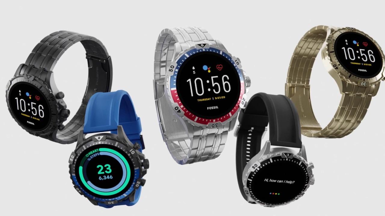 New Gen 5 Fossil Smartwatches