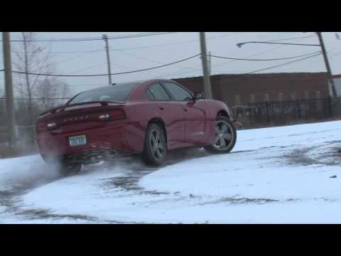 Test driving the new 2013 Dodge Charger AWD Sport