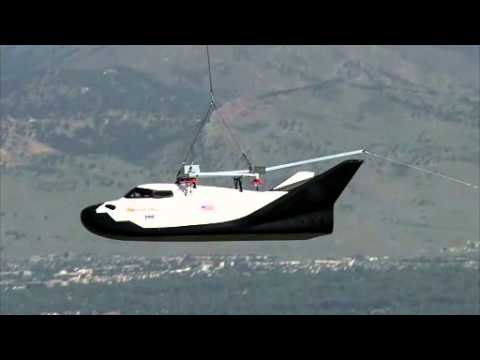 NEW NASA SHUTTLE Dream Chaser - YouTube