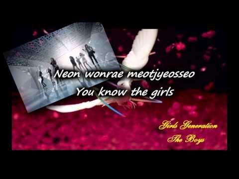 The Boys (Korean Version) - SNSD/Girls Generation (Karaoke/Instrumental)