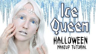 SCARY ICE QUEEN - Halloween Makeup Tutorial - Einfach & Schnell!