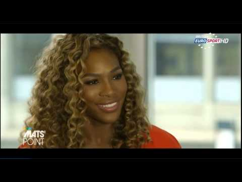MatsPoint Interview with Serena after USO 2014