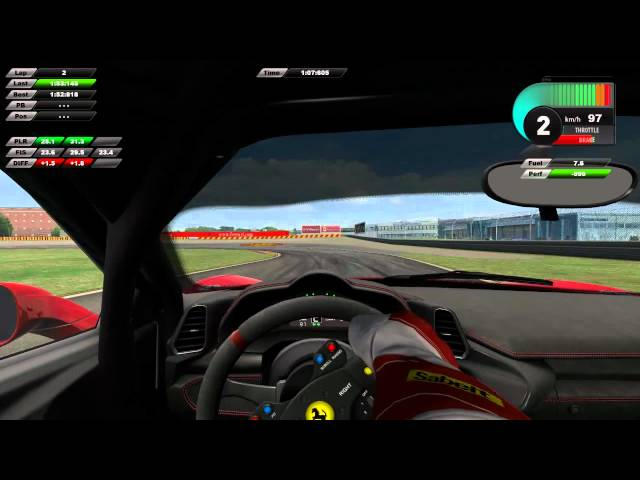 Ferrari Virtual Academy Adrenaline Pack 2011 - F458 Italia @ Fiorano