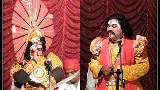 Yakshagana-Vidyadhara Jalavalli-Sundara Ravana, Ravindra Devadiga-Haasya, Raghavendra Achari Jansale