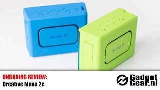 Unboxing Review: Creative Muvo 2c Bluetooth Speaker