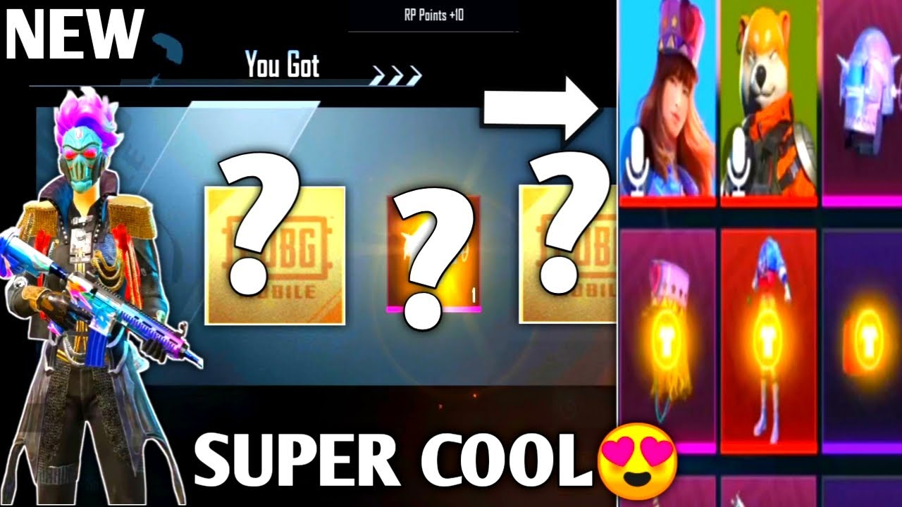 AWESOME OPENING CRATE AT SEASON 14 & NEW CLASSIC CRATE | PUBG MOBILE KOREA
