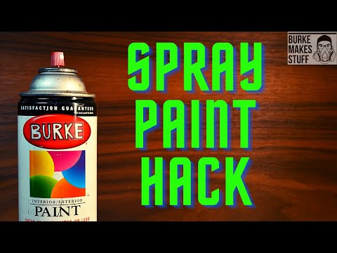 Spray Paint Drying Hack - Hot Box - tip, trick, hack