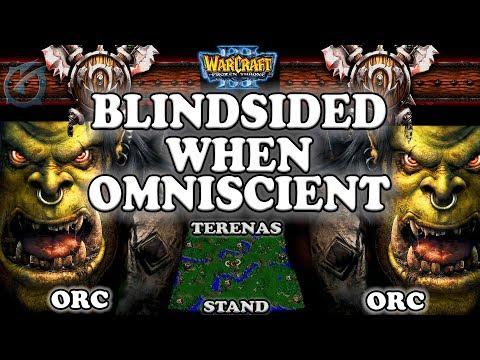 Grubby | Warcraft 3 TFT | 1.29 LIVE | ORC v ORC on Terenas Stand - Blindsided when Omniscient