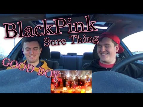 BLACKPINK - SURE THING (Miguel Cover) LIVE Reaction [GOOD BOY]
