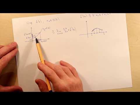 Видеоурок: Производная, таблица производных по предмету