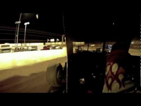 Perris Auto Speedway CDCRA Dwarf Car Main 10/27/12 In-Car