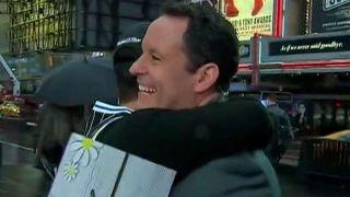 Celebrating National Hug a Newsperson Day