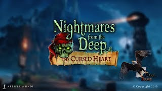 Nightmares From The Deep : The Cursed Heart - Platinum Walkthrough(Mahjong with Finish)