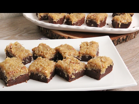 German Chocolate Cake Brownies | Episode 1140