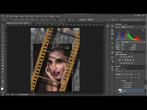 How To Create A Film Strip Effect In Photoshop