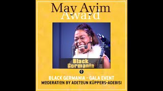 MAY AYIM Black German May Ayim Award Afrika Diaspora Literature Afro Deutsche Afrika Black Berlin