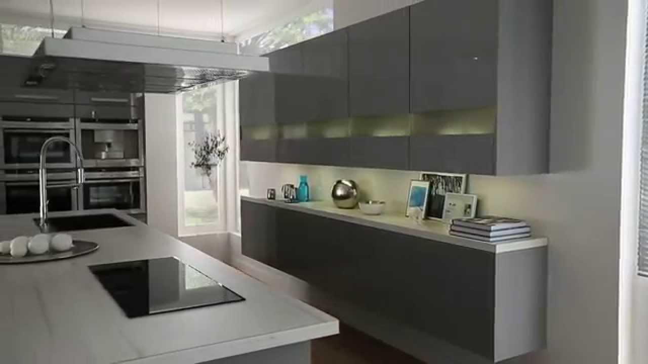 Moderne køkken i højglans fra schmidt   youtube