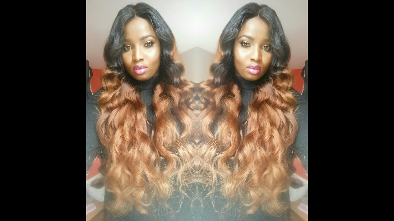 How To Bleach Amp Dye Alimoda Brazilian Loose Wave Hair