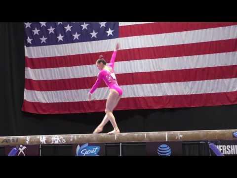 Irina Alexeeva - Balance Beam - 2016 Secret U.S. Classic - Junior