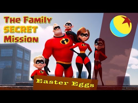 the Incredibles 2 Everything You Missed (Easter Eggs)