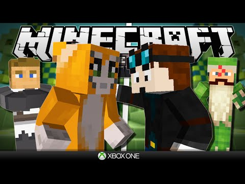 Minecraft Xbox | Hunger Games vs Stampy & Friends!