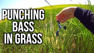 PUNCHING for Bass in Nebraska?!?!