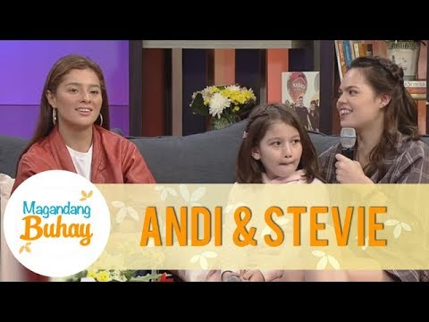 Magandang Buhay: Andi and Stevie miss their Popshie Mark