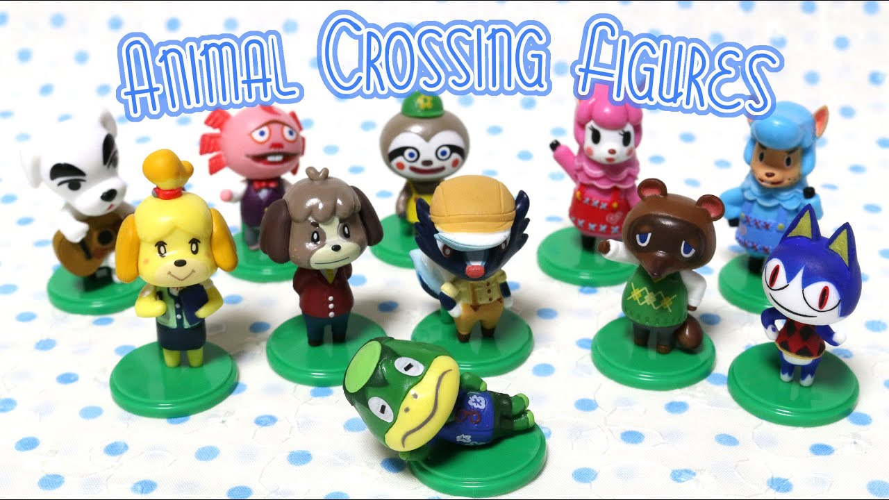 Animal Crossing Figures Full Set Stop Motion YouTube