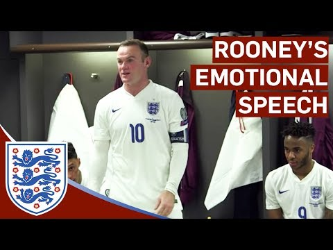 Emotional Wayne Rooney Changing Room Speech | Inside Access