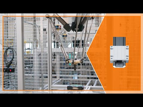 igus® delta picker robot in action