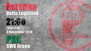 Finale FKS 2018: Fortuna/Delta Logistiek - PKC/SWKGroep