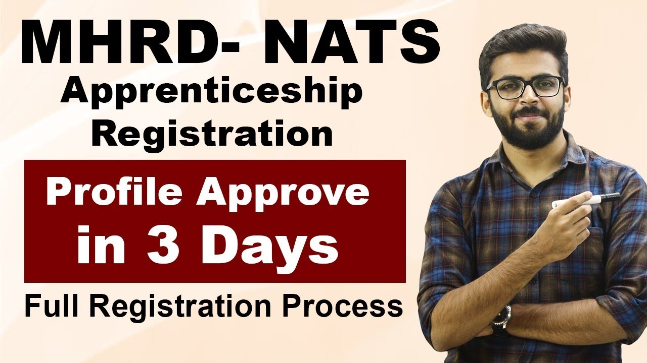 Download MHRD NATS Registration | Profile Approve in 3 DAYS | Full Registration Process