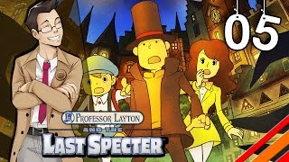 """Professor Layton and the Last Specter   """"The Fish Lab""""   Part 5"""