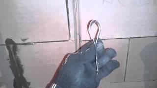 видео Ручной штроборез для газобетона