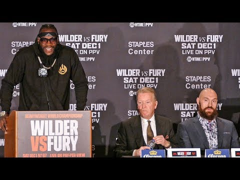 Deontay Wilder vs. Tyson Fury FINAL PRESS CONFERENCE | Los Angeles