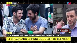 Palermo: echaron a golpes a una pareja gay de una pizzería