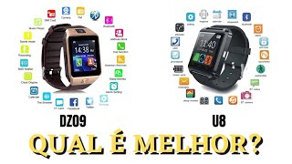 Smartwatch U8 ou DZ09? Review